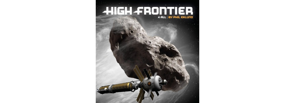 KS kampaň na 4. edici hry High Frontier