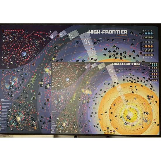 High Frontier - neoprenová mapa