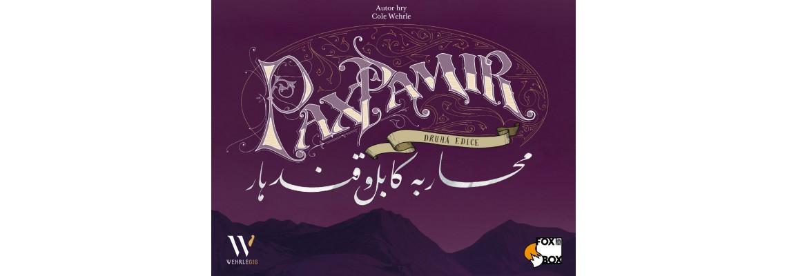 Spuštěny předobjednávky na sběratelskou edici Pax Pamir!
