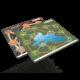 ROOT - neoprenová mapa jezero/hory